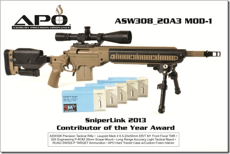 Sniper Link ASW308 COTY 2013