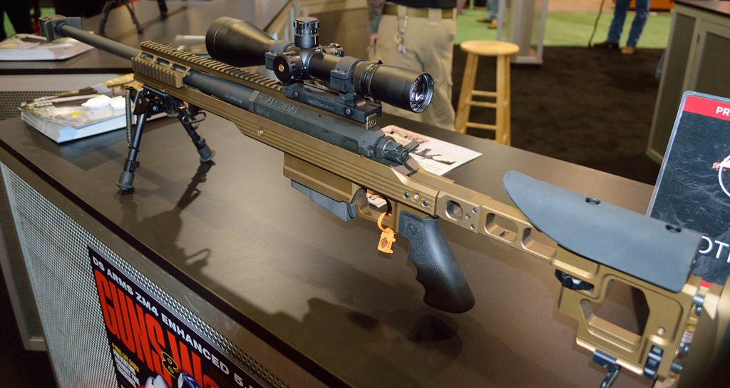Ar30 a1 chambered in 338 lapua magnum also available in 300 win mag