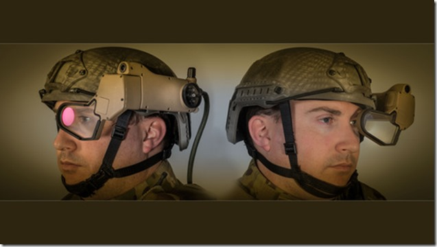 q-warrior see through display
