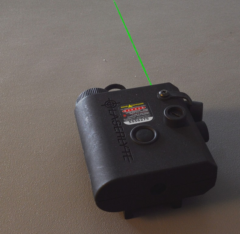 Laserlyte Center Mass Green Laser Sight: LaserLyte Kryptonyte Center Mass Laser CM-K15B