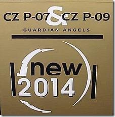 CZ small arms manufacturer CZ-805 Bren P-09 P-07 Eurosatory 2014 defense exhibition Paris France_0003