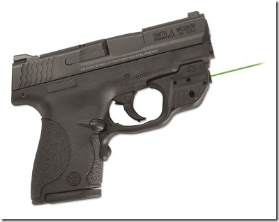 Crimson Trace's LG-489G Laserguard with green diode