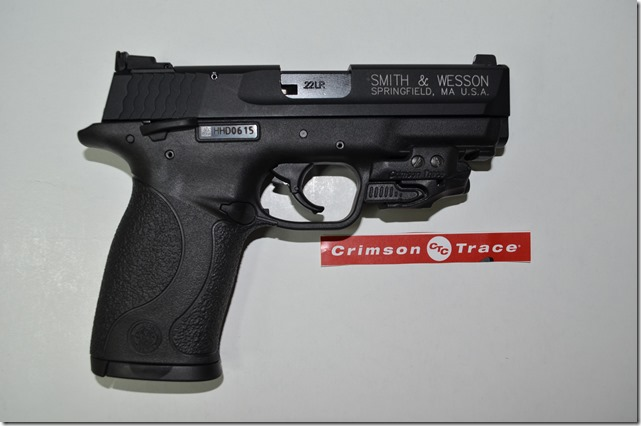 S&W M&P 22 Compact with a CT Rail Master