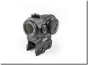 03-045-14131_AimpointMicroMount_LowerThird_AbsCo_WithSpacer_Sight_Angle2