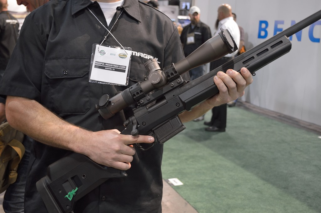Magpul Industries Hunter 700 Stock At Shot Show 2015 Fog Horn