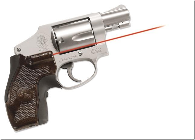 Crimson Trace LG-405 on a S&W revolver