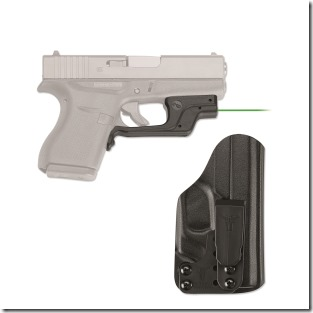Crimson Trace LG-443GH-BT for Glock43 pistol and with Blade Tech Holster