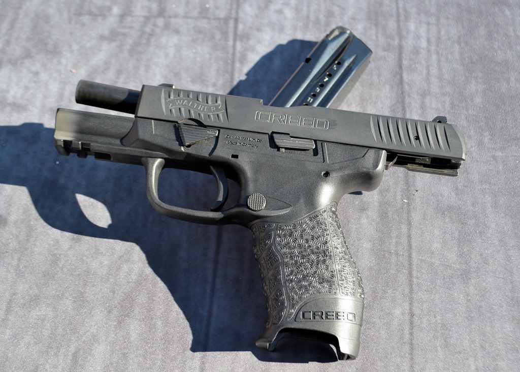 Sneak Preview Walthers New Creed 9mm Pistol Fog Horn
