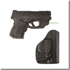 Crimson Trace Carry 9 Combo with LG-469GH for Springfield XD-s with BladeTech Holster