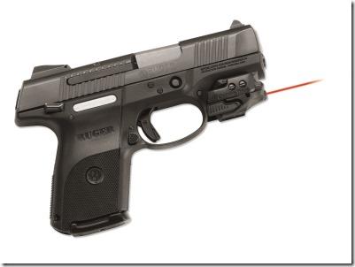 Crimson Trace CMR-201 Rail Master on a Ruger SR9 pistol