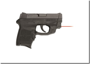 S&W M&P Bodyguard with a Crimson Trace LG-454 Laserguard