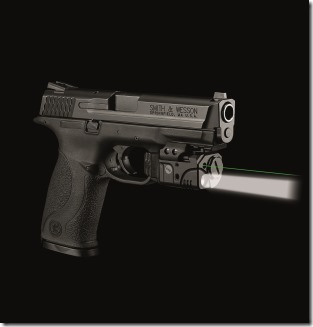 Crimson Trace Rail Master Pro on a S&W pistol
