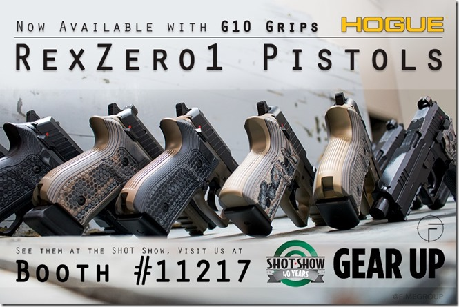 Rex Zero 1 Pistols