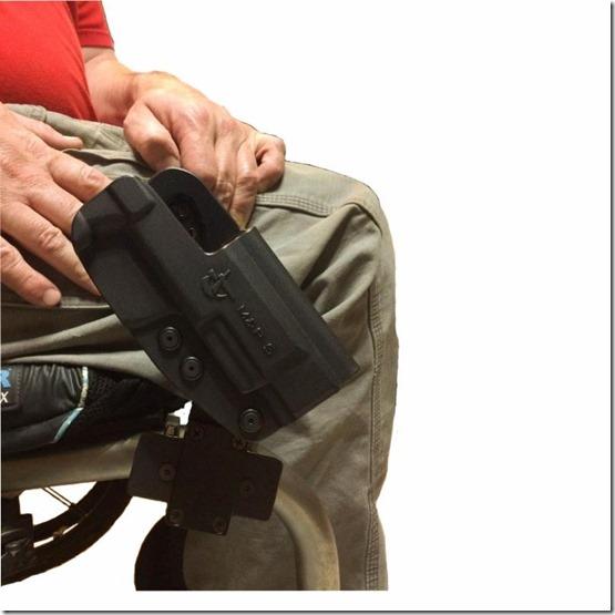wheelchair Holster