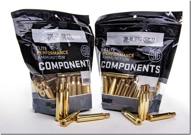 SIG SAUER 270 Win and 30-06 Springfield Components