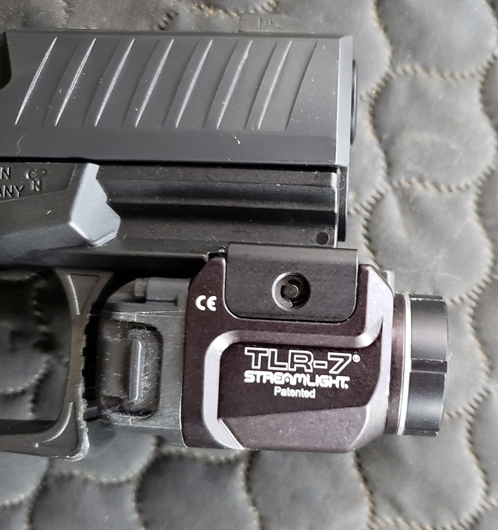 WALTHER PPQ SC w/ Streamlight TLR-7 and TLR-8 | FOG HORN