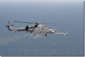 Leonardo helicopters AW159 WILDCAT with SPIKE NLOS-4