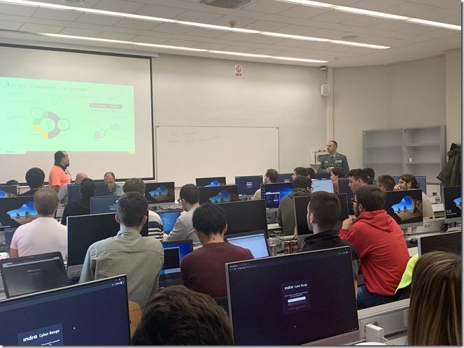 National Cyber League Guardia Civil Universidad de Alcalá 3