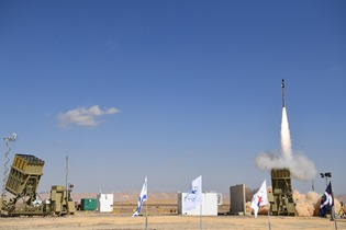 Iron Dome launch_