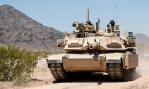 Trophy on US Abrams